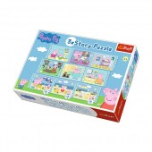Puzzle Peppa Pig -9in1