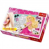 Puzzle Barbie - 30pcs