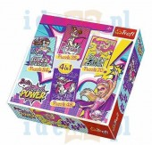 Puzzle Barbie - 4in1