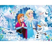 PUZZLE FROZEN 104 PCS