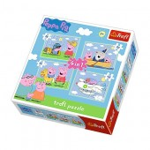 Puzzle Peppa Pig - 4in1