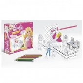 Set Colorat - Barbie